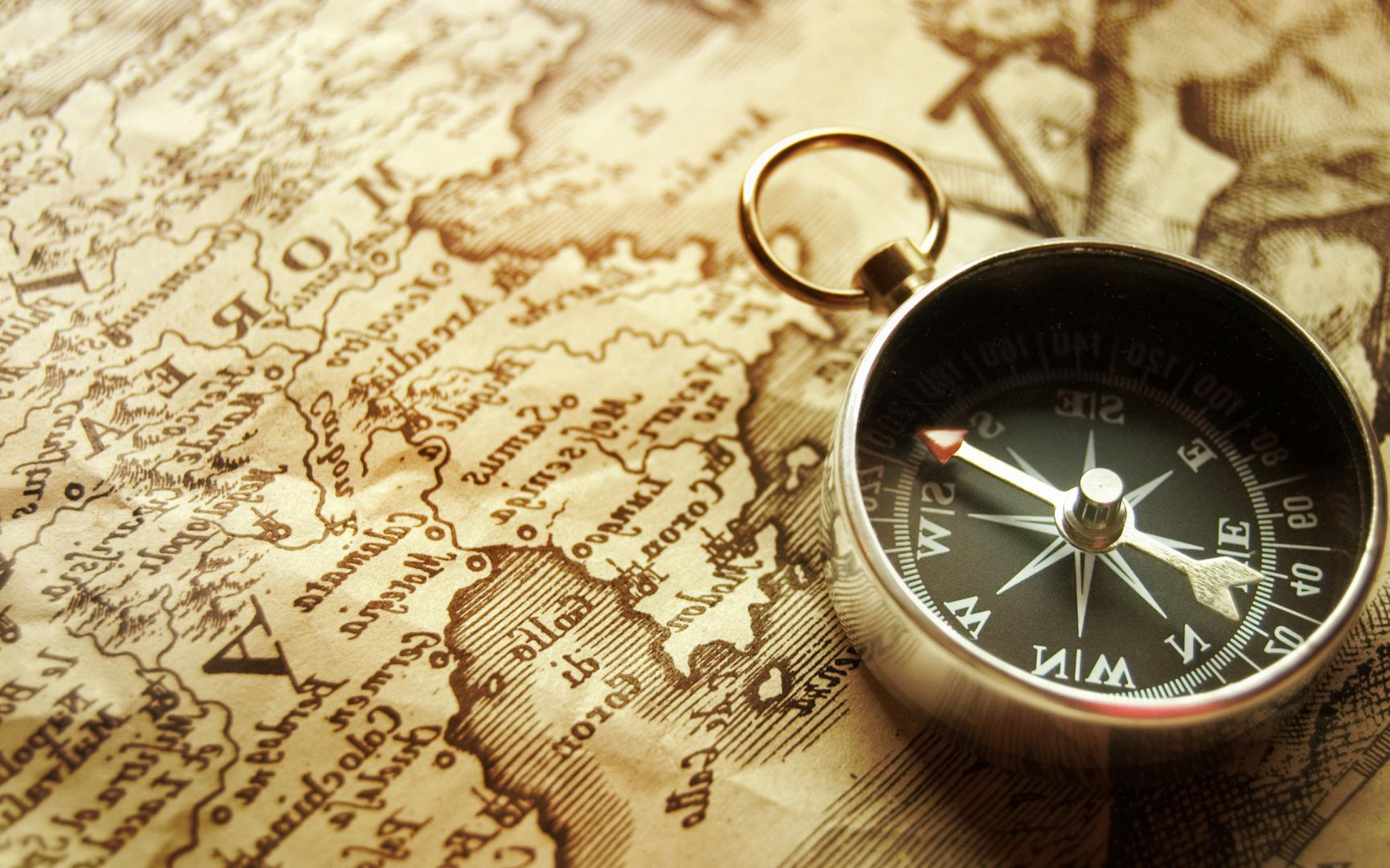 Compass And Map Grace Filled World