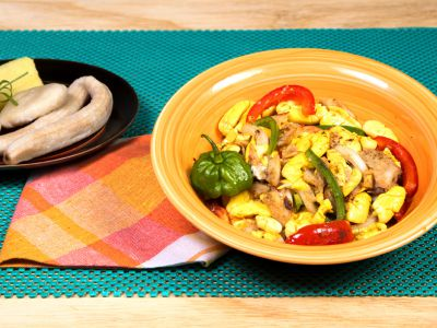 Image result for Ackee and Codfish