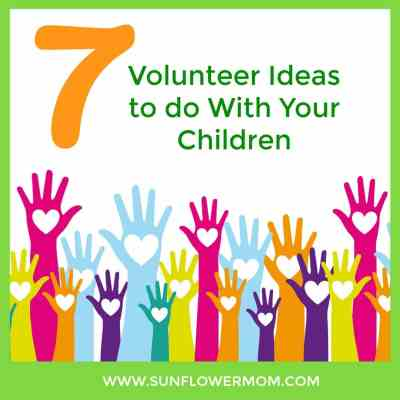 volunteer ideas with kids