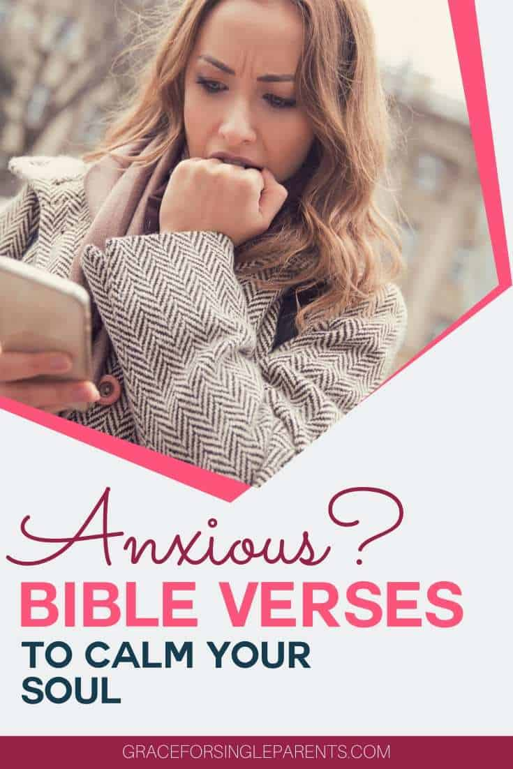 How to Face Anxious Thoughts - with the best Bible Verses on Anxiety