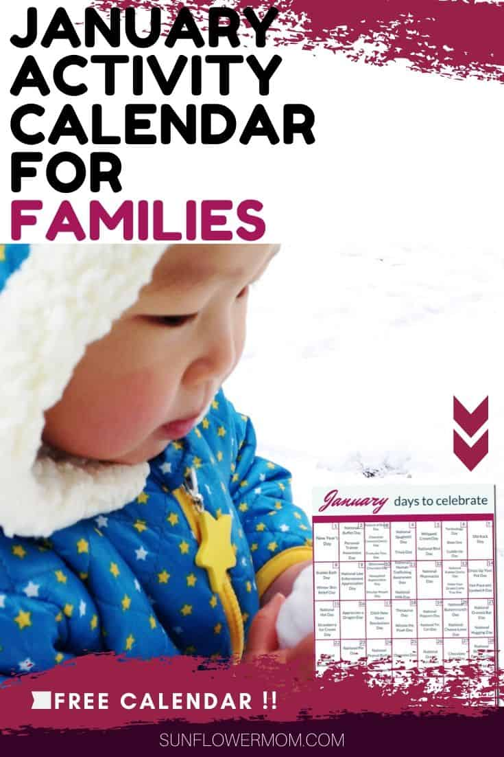 Fun January Days to Celebrate for Families