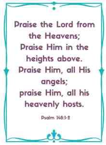 psalm 148:1-2