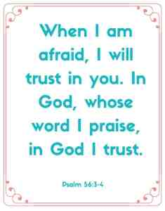 psalms 56:3-4