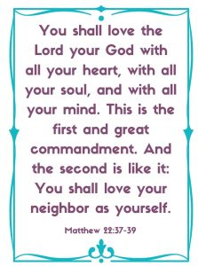 matthew 22:37-39