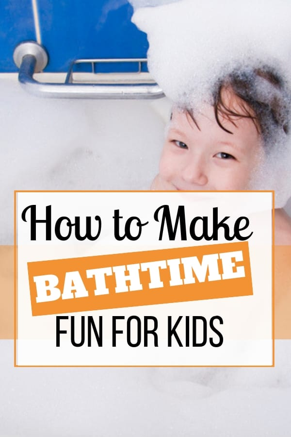 Making Bath Time Fun for Your Kids
