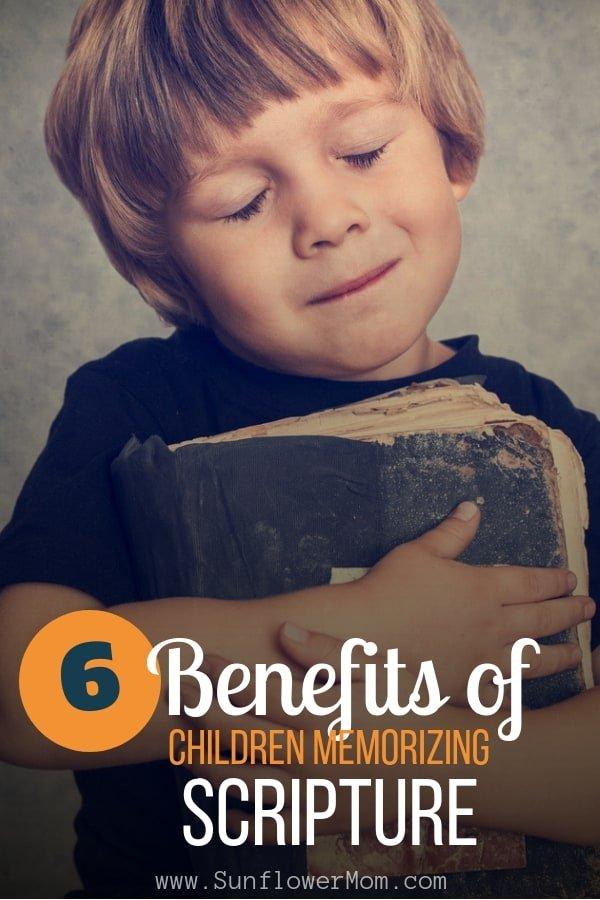 Benefits of Children Memorizing Scripture