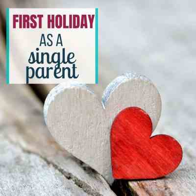 first holiday single mom