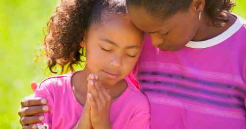 pray with your children