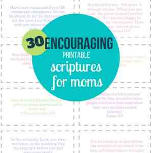 encouraging scriptures for mom
