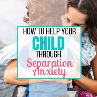 separation anxiety kids divorce