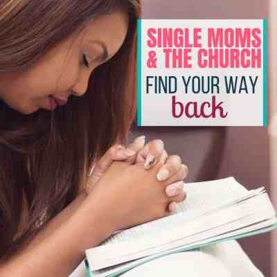 single moms and church