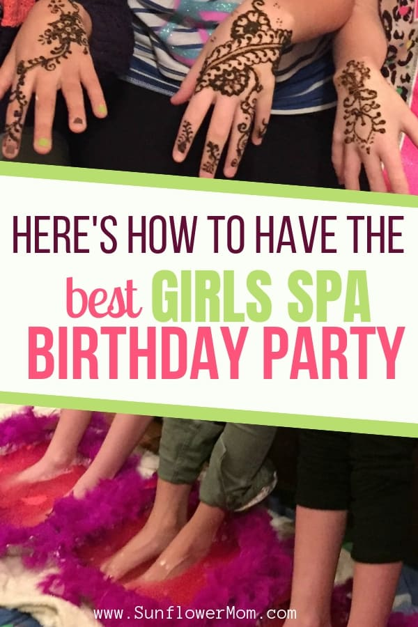 Here\'s How to Have the Best Girls Spa Birthday Party Ever