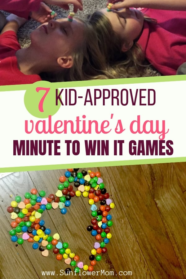 7 Kid Approved Valentine's Day Minute to Win It Games