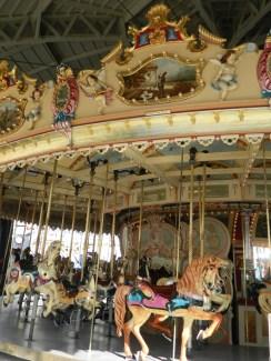 Luna Park carousel