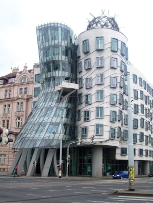"Frank Gehry's ""Fred and Ginger"""