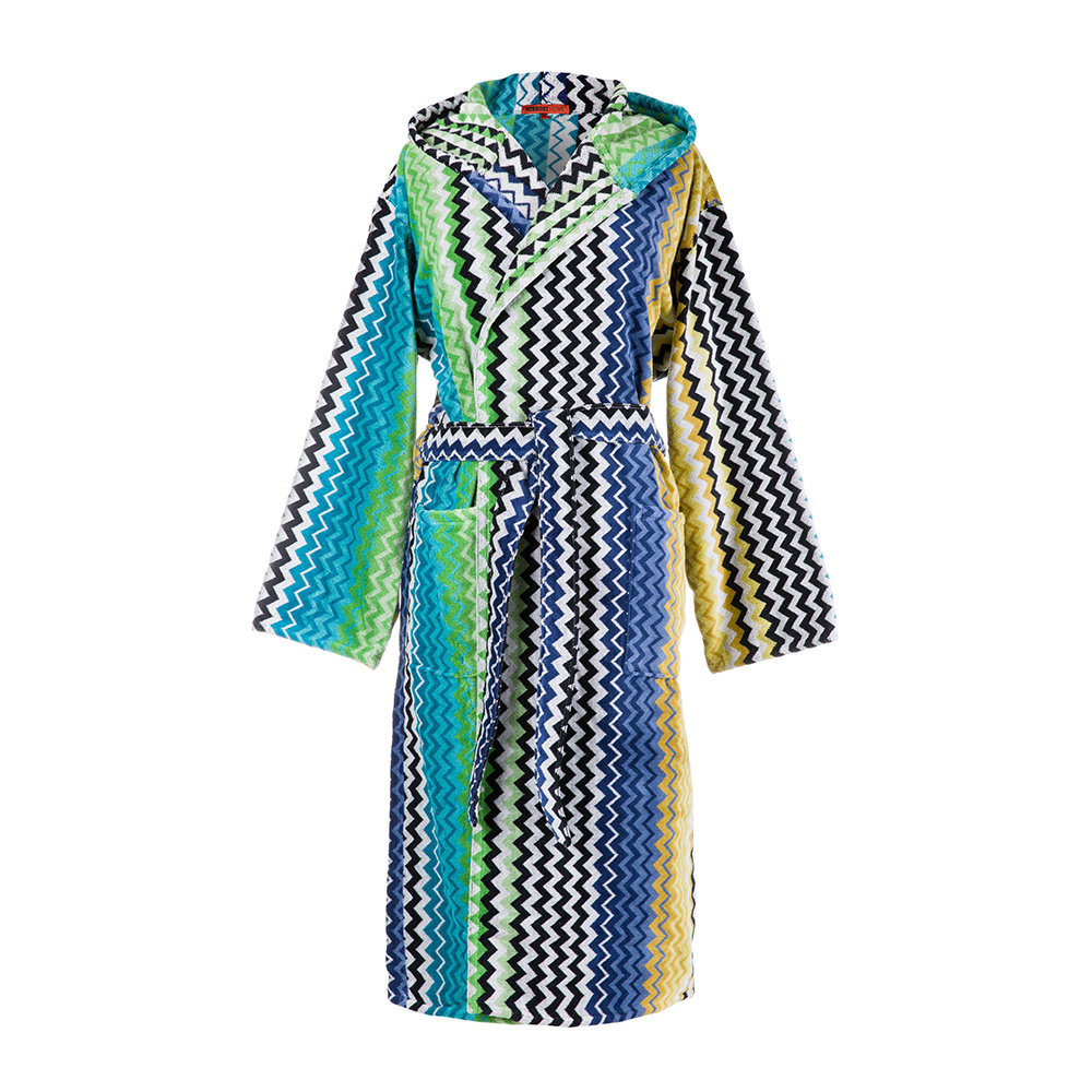 Stan Hooded Bathrobe from Missoni Home - Bathroom Essentials