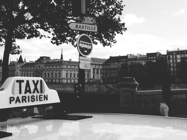 Things to do in Paris - Taxi ride with natives