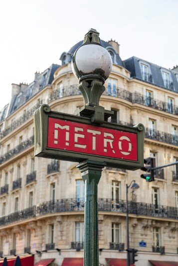 Things to do in Paris - Metro