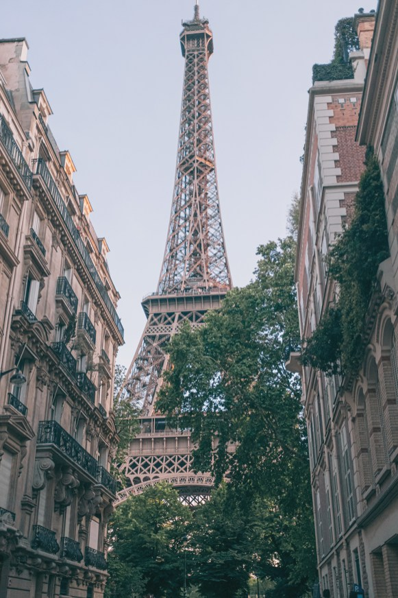 Eiffel Tower - Armchair Travel - Graceful Blog