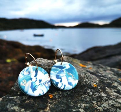 Cornish Clay Earrings - Emily Jane Jewels