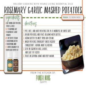 Rosemary Garlic Mashed Potatoes