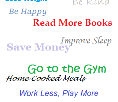 Easy to Keep Resolutions