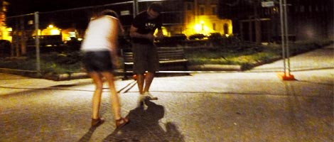 Reason 1,024,862 I love Italy: Dancing in a piazza on a Sunday night