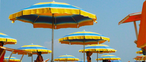 A day at the sea: Rimini, Italy