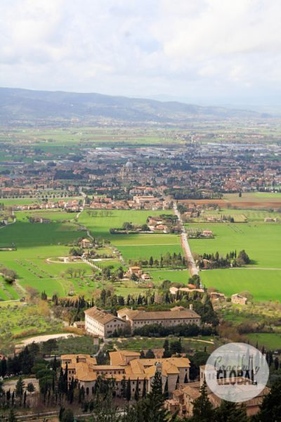 "Assisi's region of Umbria is affectionately known as Italy's ""Green Heart."""
