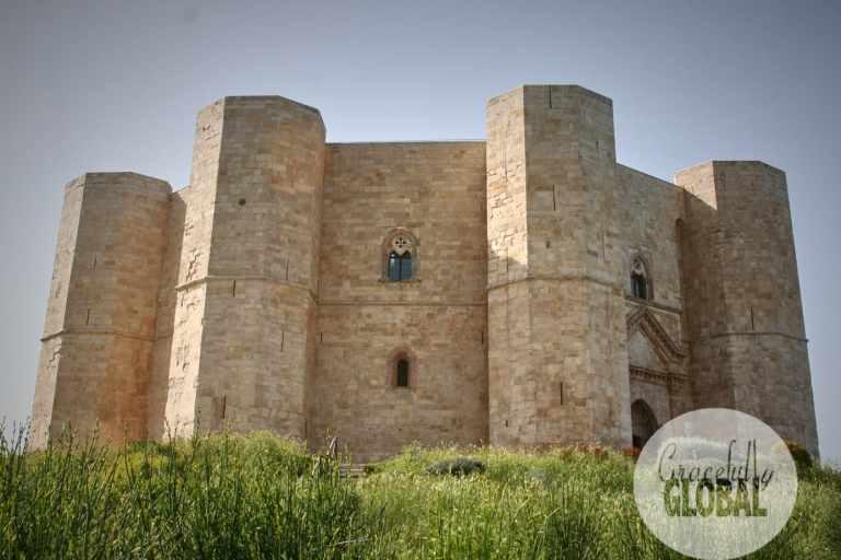 The iconic Castel del Monte outside of Andria, Puglia.
