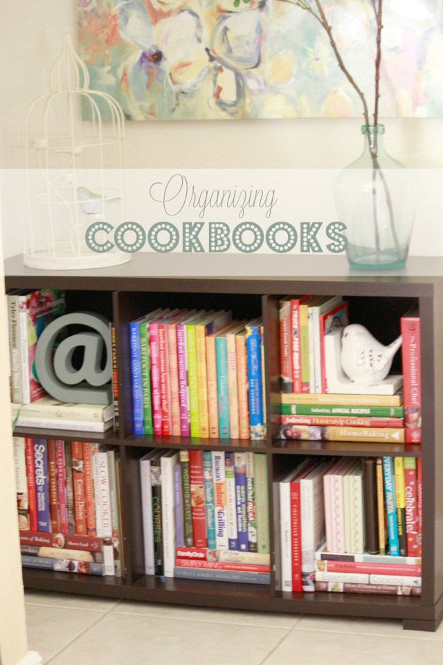 Organizing Cookbooks