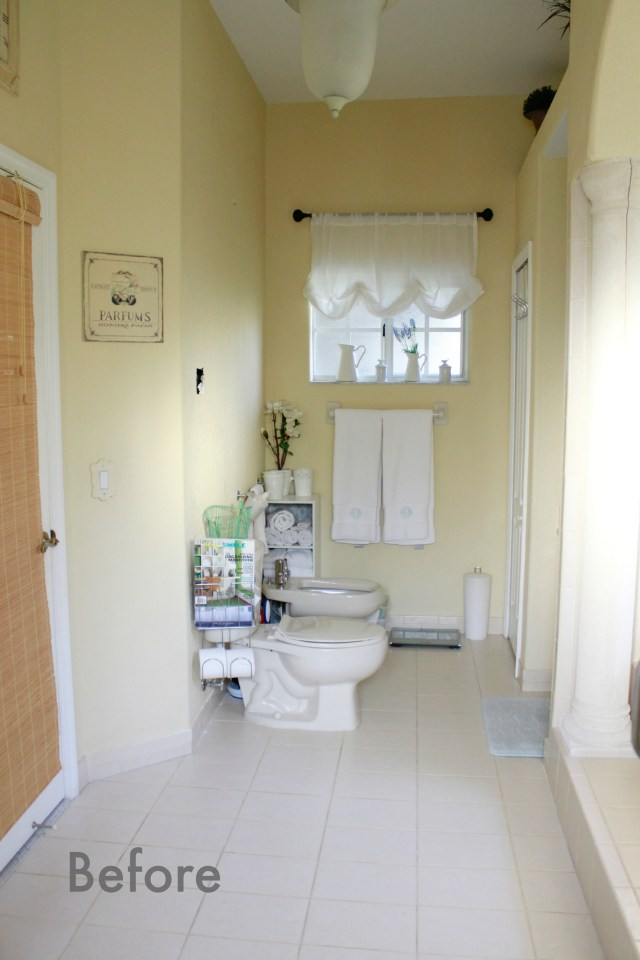 Updating master bathrooms