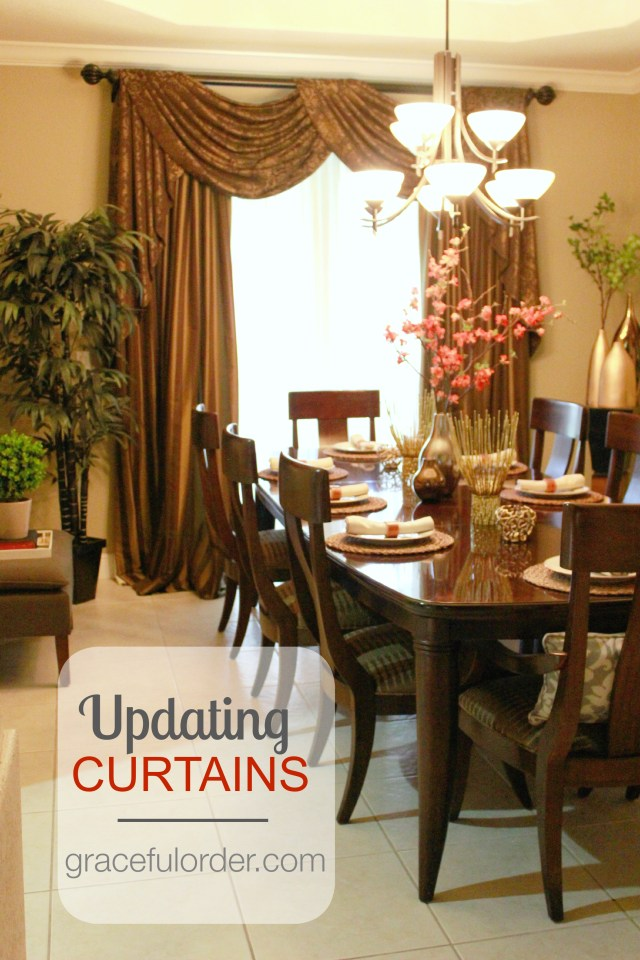 Easiest Way to Update Curtains