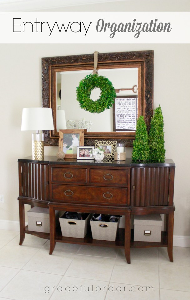 Entryway Organization