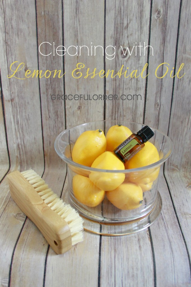 Cleaning with Lemon Essential Oil