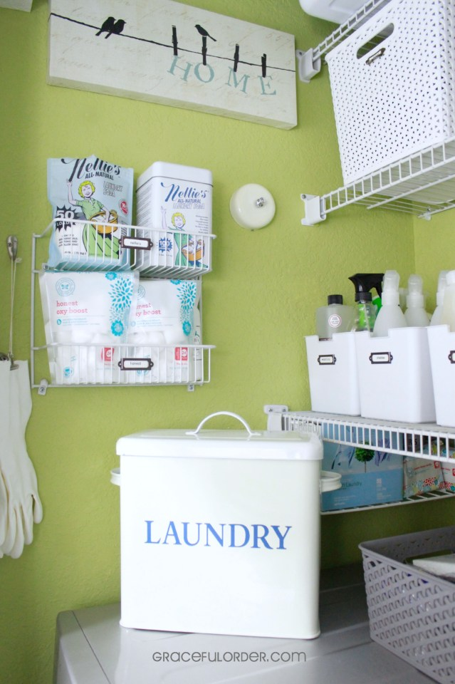 Tips for Organizing Laundry Closets