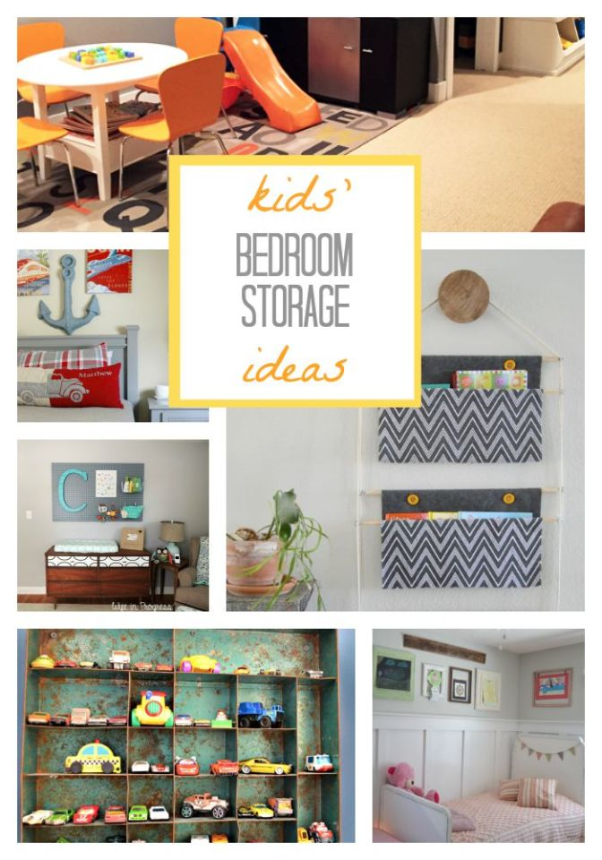 Wayfair Housewarming Party: Kids' Bedroom Storage Ideas