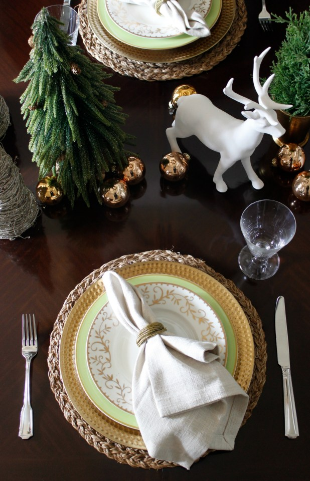 Christmas Tablescape 2015