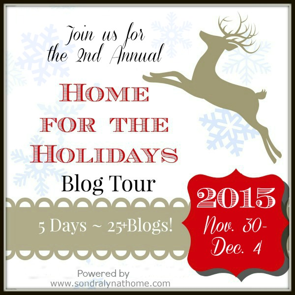 Home for the Holidays 2015 - SondraLyn at Home