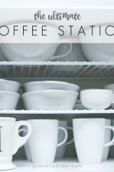 Ultimate Coffee Station