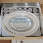 Organizing Plates And Platters Graceful Order