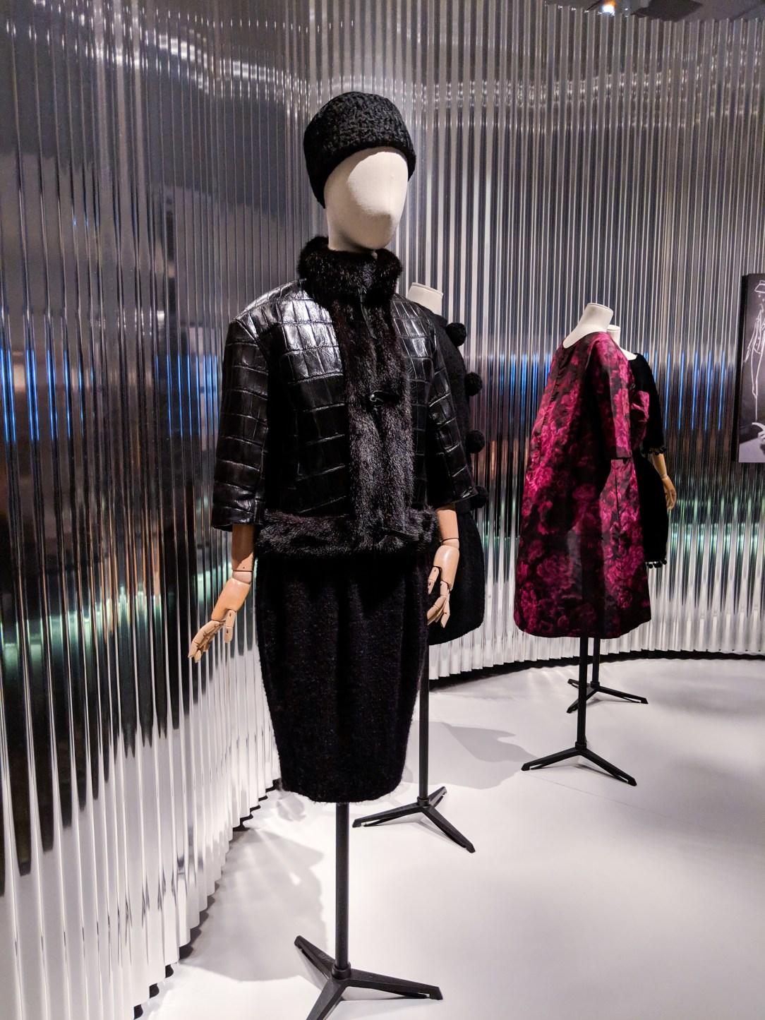 Dior black leather jacket