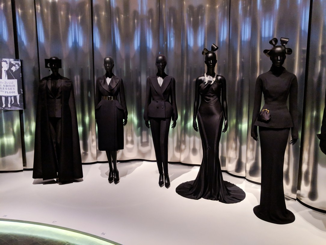 Christian Dior's first exhibit in 1946, modern femininity