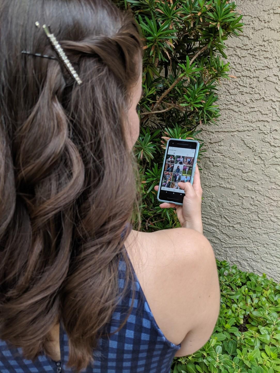 Scrolling Instagram, Instagram feed, social media