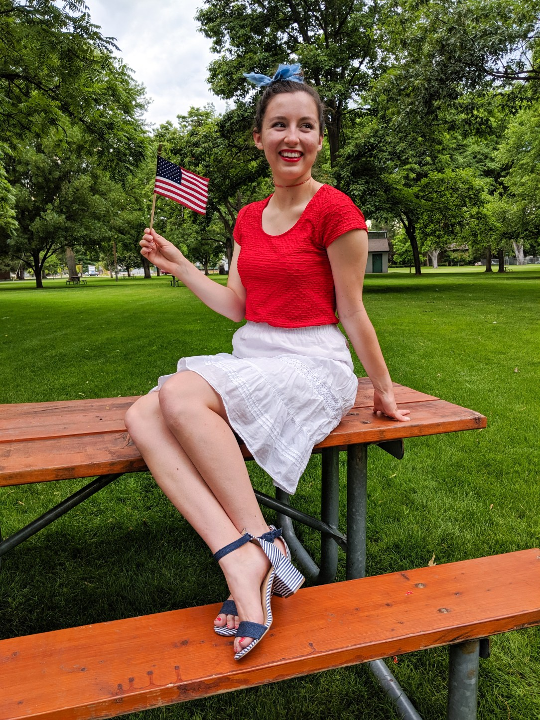 4th of july, patriotic outfit, red white and blue