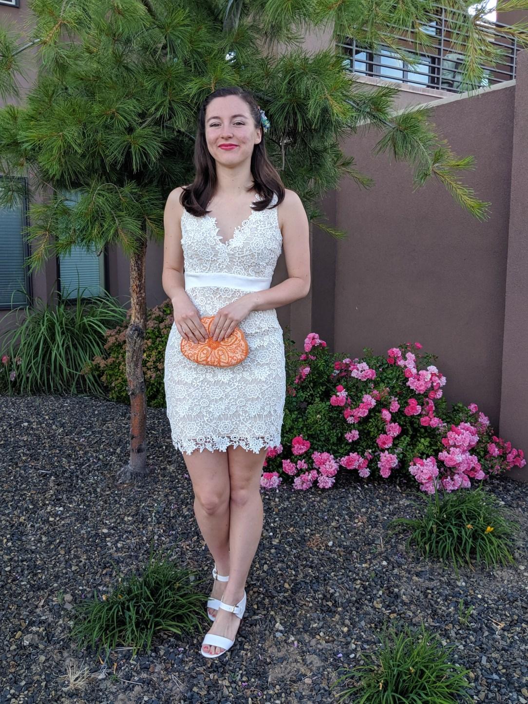 ways to wear a white dress
