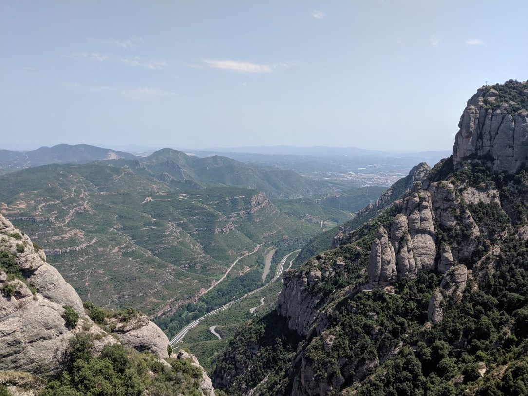 mountain views, montserrat, Catalonia