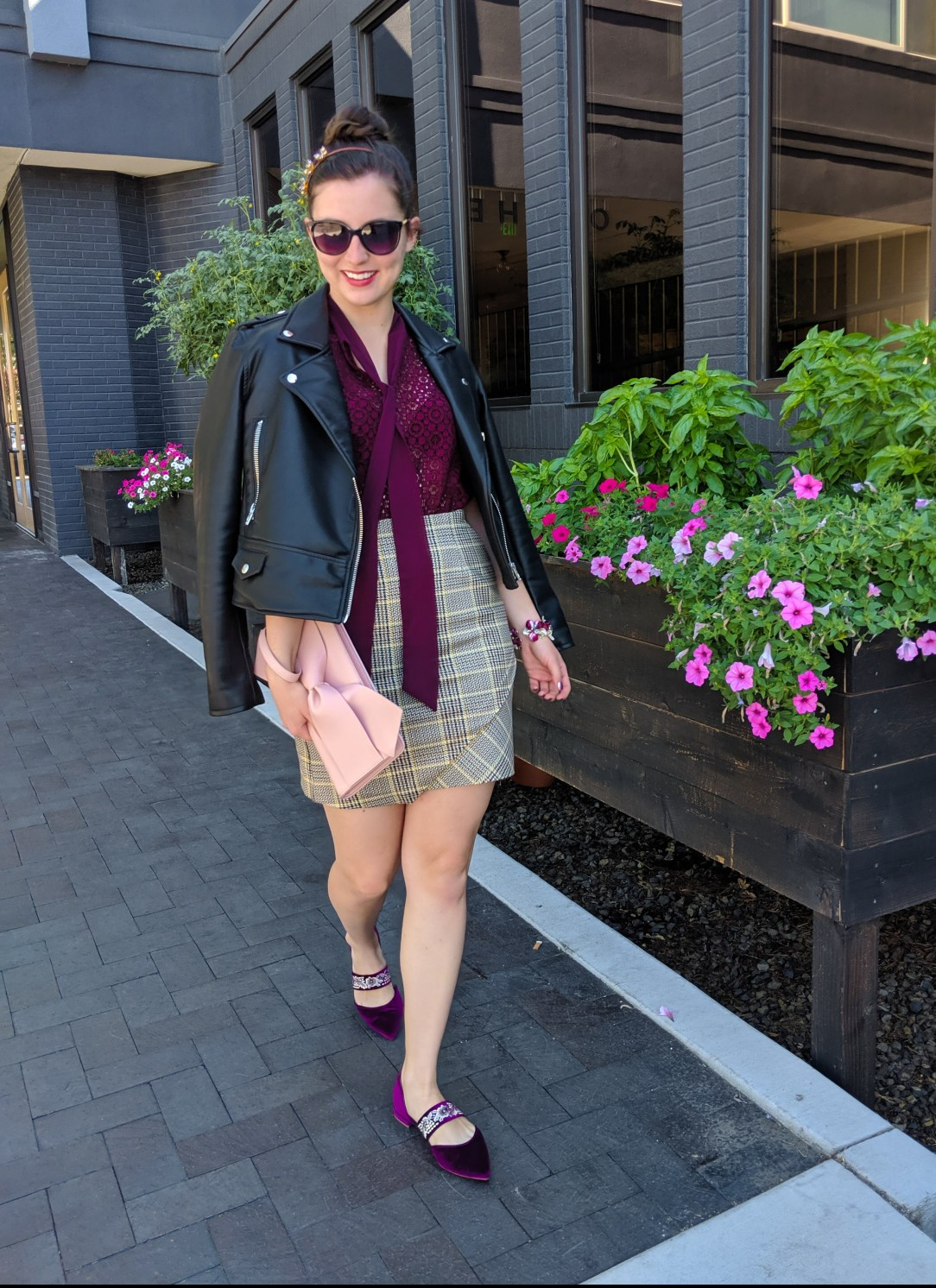 chic outfit, street style, edgy, fashion blogger