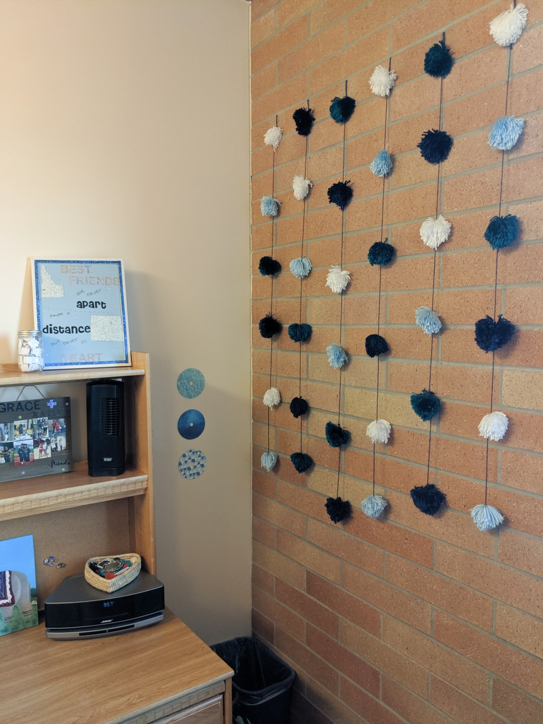 dorm room decorations, hand-made decorations