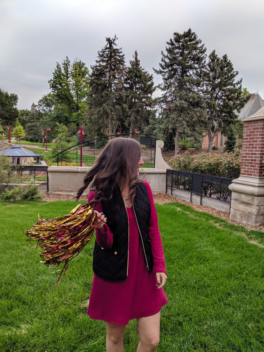 back to school, spirit day, crimson and gold, university of denver
